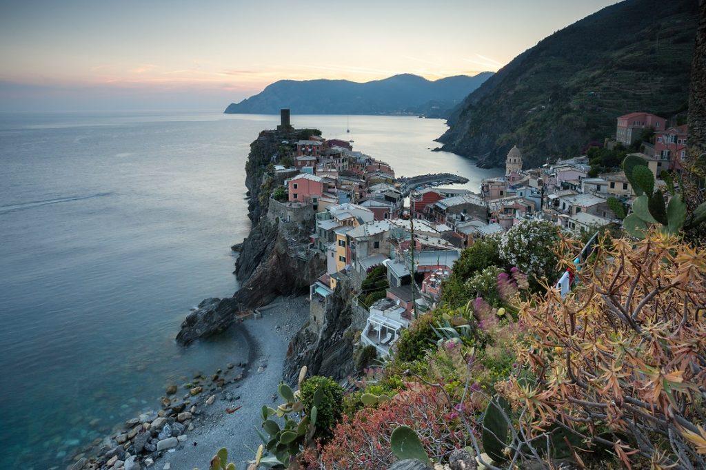 Italien Cinque Terre Vernazza