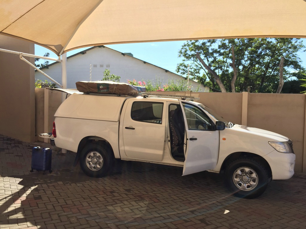 Toyota Hilux Double Cab, African Tracks