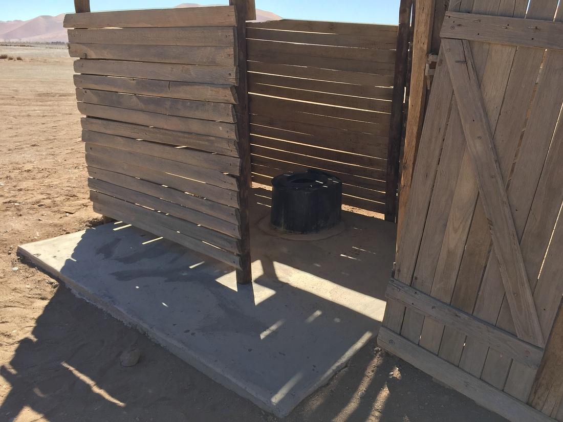 Toilette Dune 45 Namibia