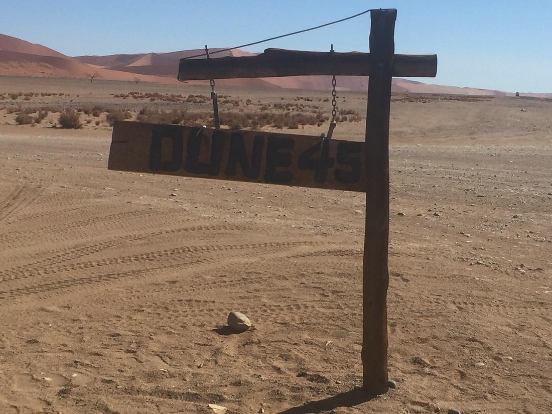 Einfahrt Dune 45