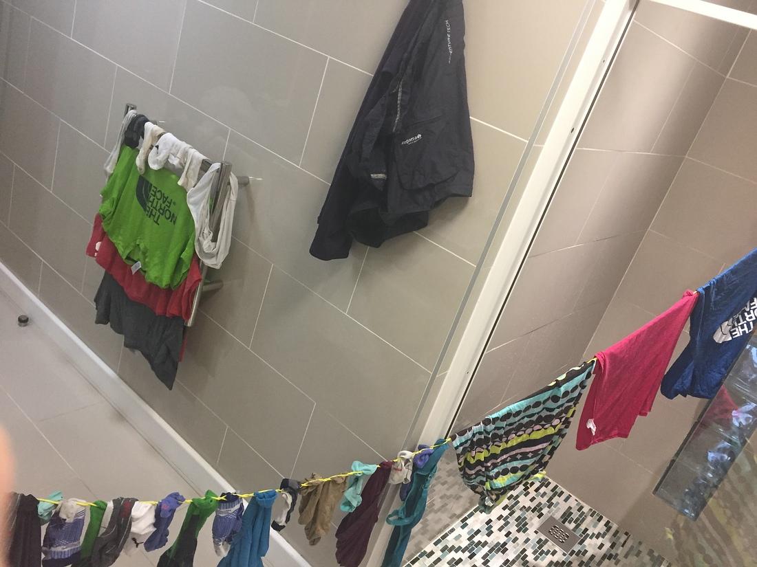 Wäsche waschen und trocknen