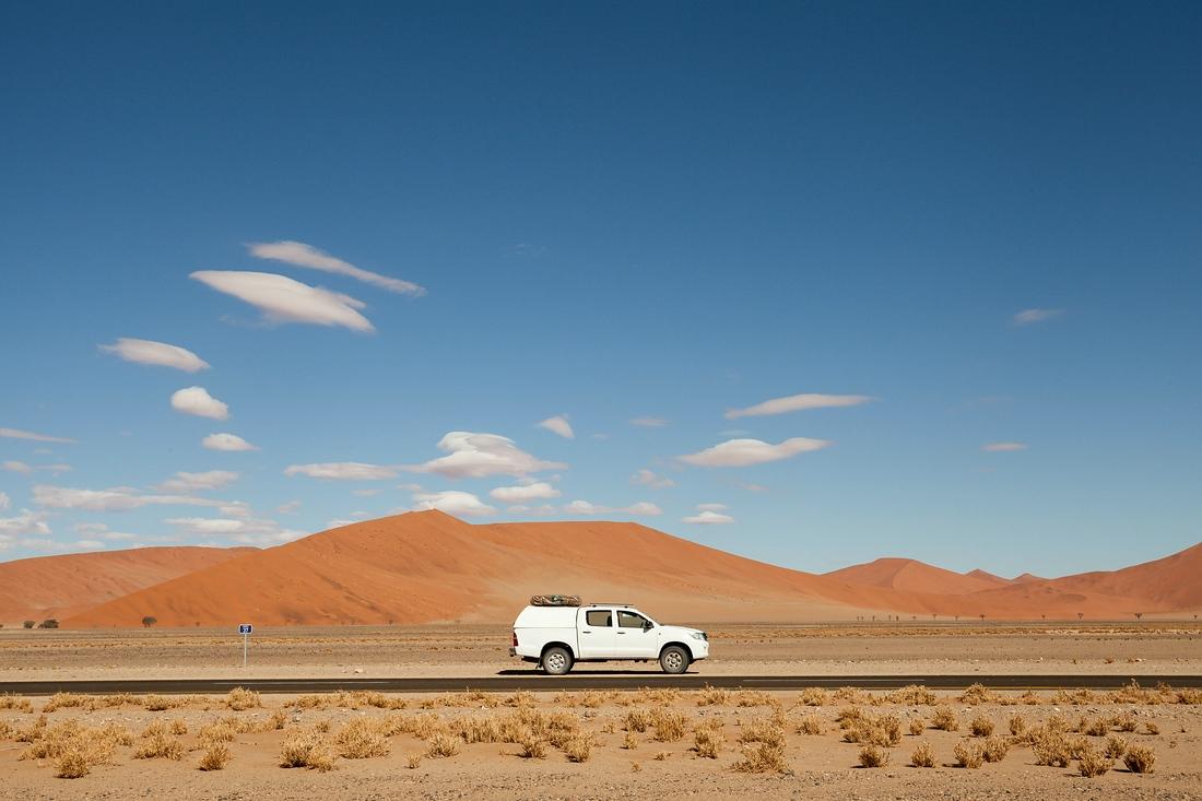 Toyota Hilux Sesriem Namib Naukluft Park