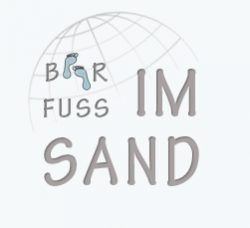 Barfuss im Sand