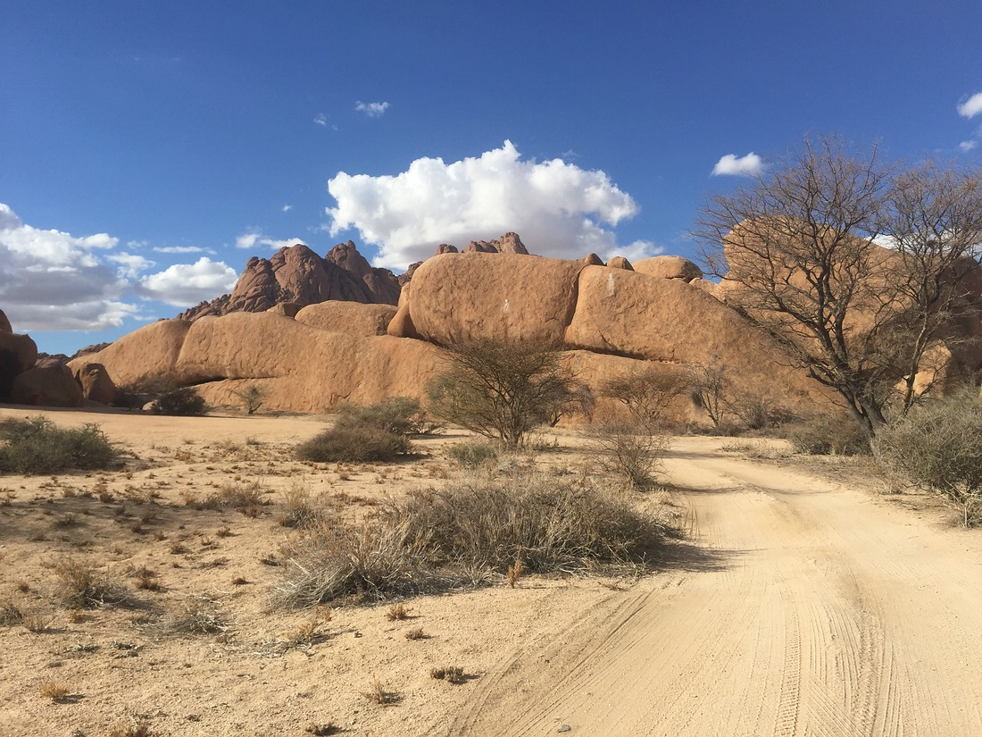Spitzkoppe Campsite, Namibia