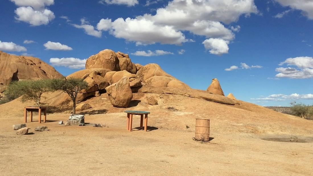 Campsite Nr. 4, Spitzkoppe, Namibia