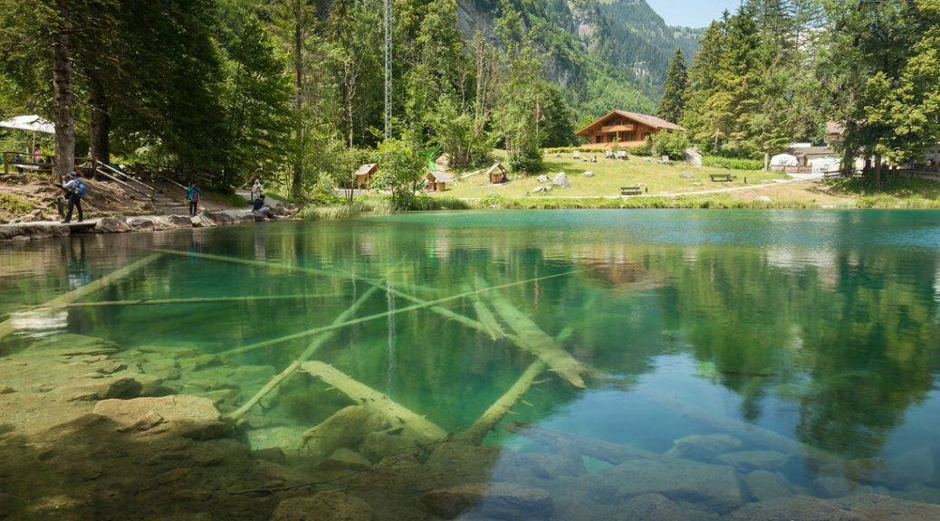 Blausee, Schweiz, Kanton Bern