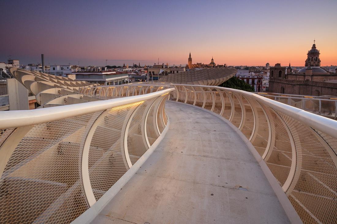 Metropol Parasol, Sevilla, Spanien