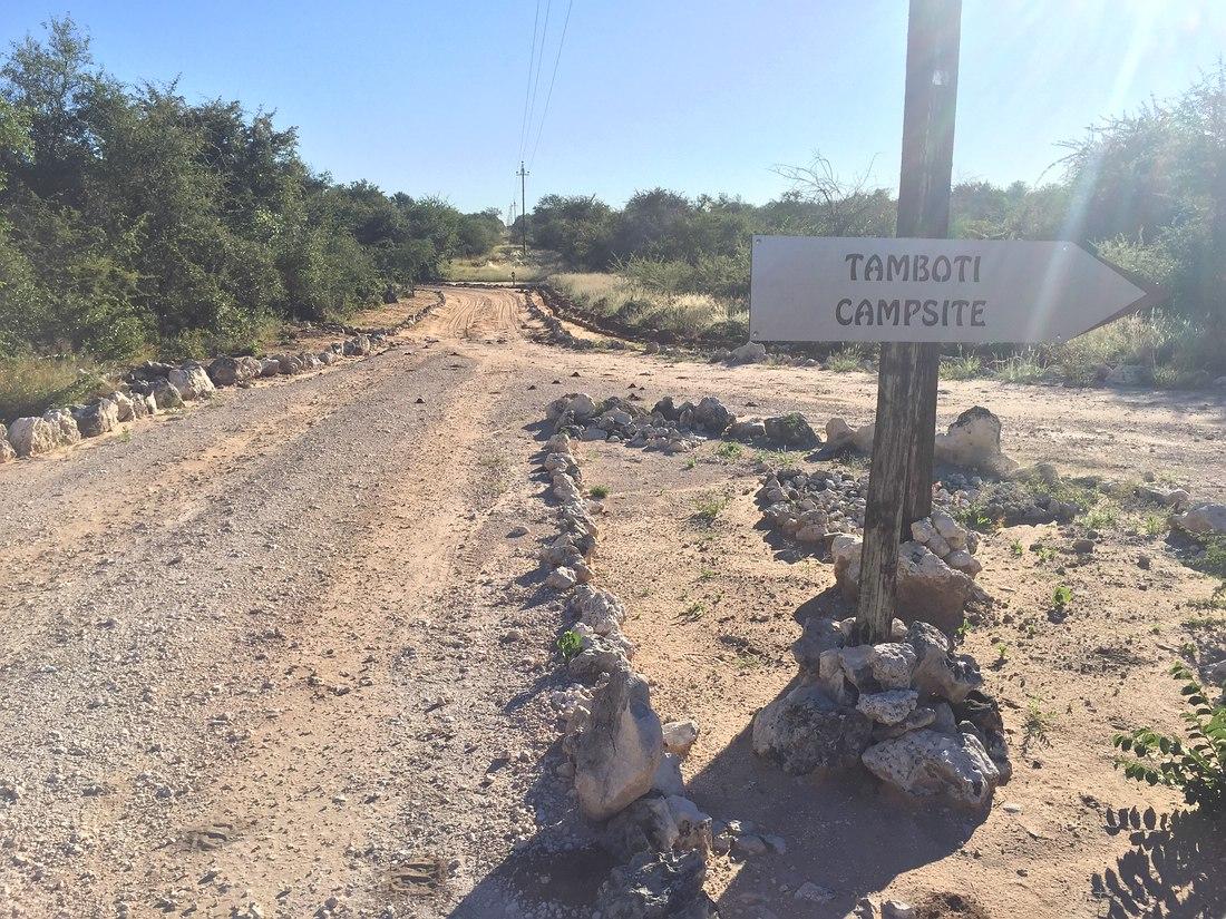 Tamboti Campsite, Onguma