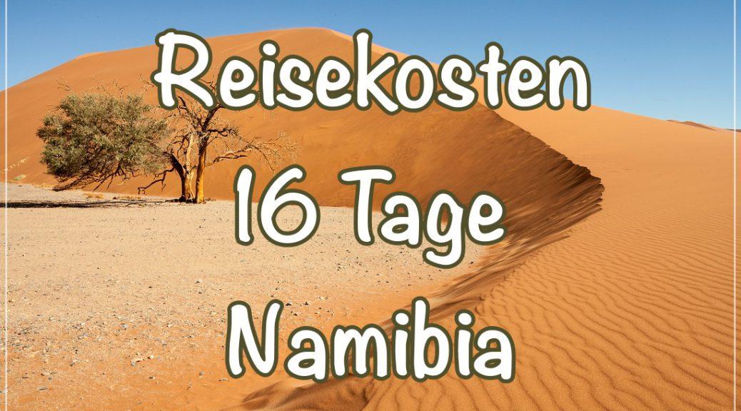 Kostenaufstellung Namibia