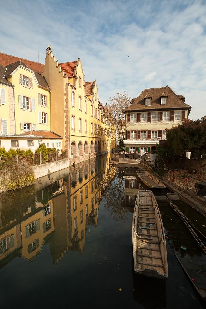 Boot fahren, Klein Venedig, Colmar