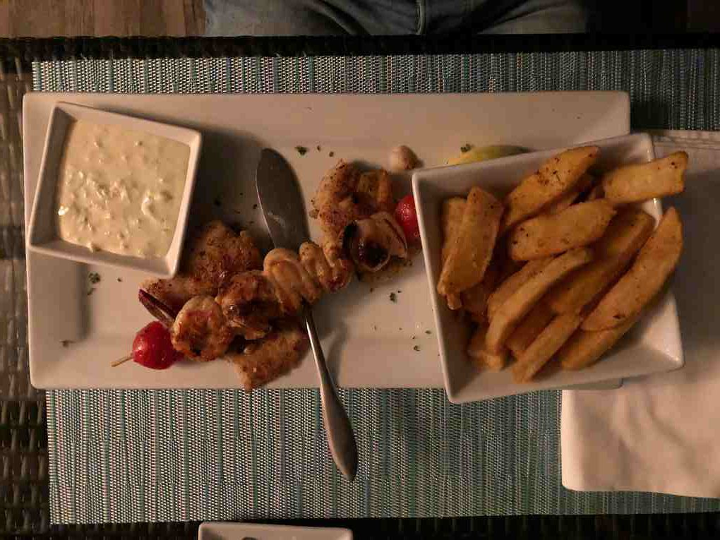 Fisch mit Chips