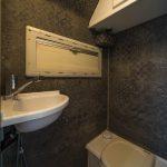 Wandbelag Bad, Tischer Wohnkabine 260S, Restaurierung, Reiseblog, Reiseberichte, Isuzu D-Max, Wasserschaden
