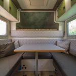 Sitzgruppe, Tischer Wohnkabine 260S, Restaurierung, Reiseblog, Reiseberichte, Isuzu D-Max, Wasserschaden