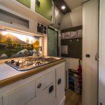 Küche, Tischer Wohnkabine 260S, Restaurierung, Reiseblog, Reiseberichte, Isuzu D-Max, Wasserschaden
