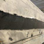 Lackierung entfernen, Tischer Wohnkabine 260S, Restaurierung, Reiseblog, Reiseberichte, Isuzu D-Max, Wasserschaden