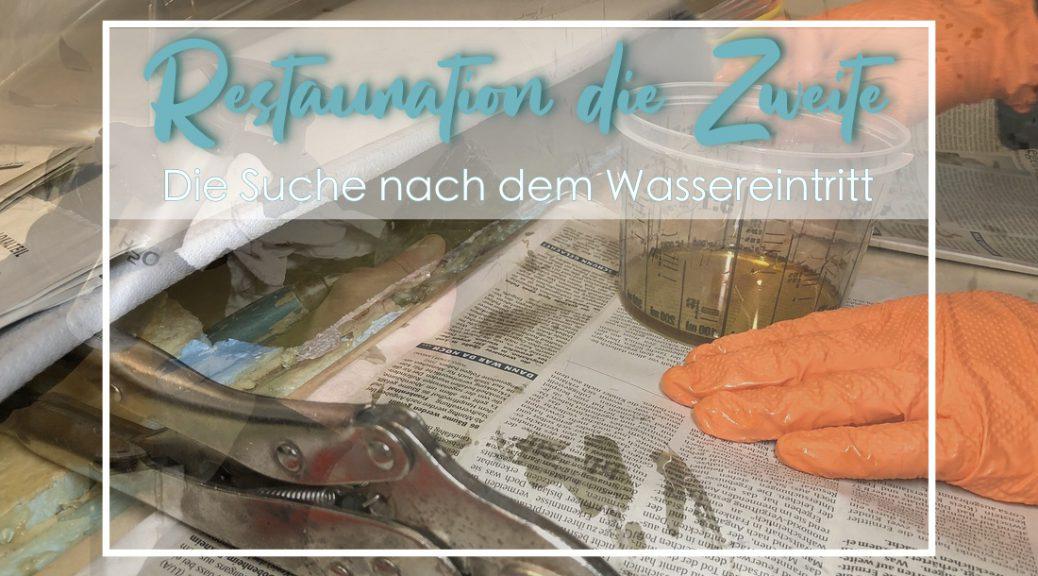 Restaurierung die Zweit, Tischer Wohnkabine 260S, Restaurierung, Reiseblog, Reiseberichte, Isuzu D-Max, Wasserschaden
